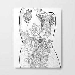 Beautiful Bodies I Metal Print