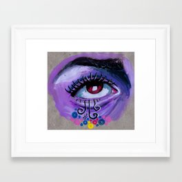 """i live in unreality"" Framed Art Print"