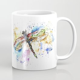 Dragonfly - Rainbow Wings Coffee Mug
