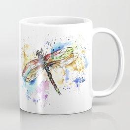Dragonfly - Rainbow Wings Coffee Mug