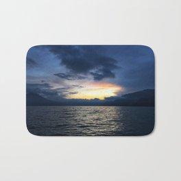 Sunsets in Lago Atitlan Bath Mat