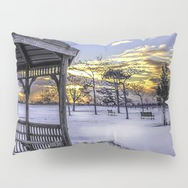 Winter in the Park Pillow Sham
