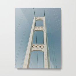 Mackinaw Bridge Metal Print