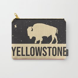 Yellowstone National Park Badge Carry-All Pouch