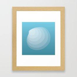 The Shell Framed Art Print