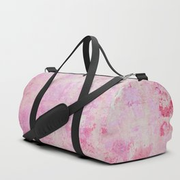 abstract vintage wall texture - pink retro style background Duffle Bag