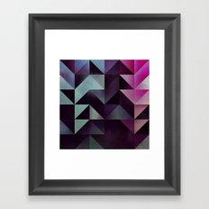 shydz'f ynsynyty Framed Art Print