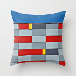 Mall Wall Throw Pillow