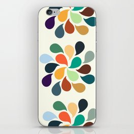 Colorful Water Drops iPhone Skin