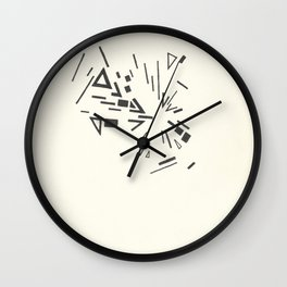 Composition #6 2016 Wall Clock