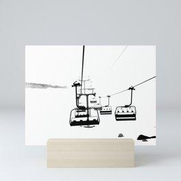 Winter Fog Mini Art Print