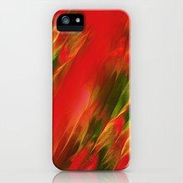 Melting in red / Sciogliersi nel rosso iPhone Case