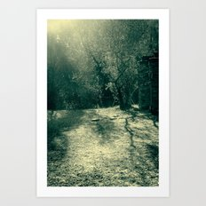 Frozen day n.1 Art Print