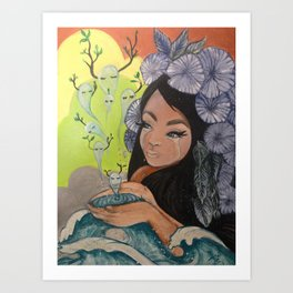 This Woman's Work Art Print