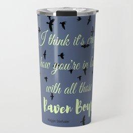 The Raven Boys Travel Mug