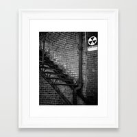 fallout Framed Art Prints featuring Fallout by BrandonAddisArt