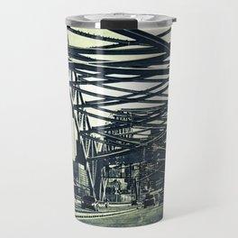 Broadway Bridge, Kansas City Missouri, Urban Grunge Travel Mug