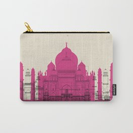 Colorful Skylines: Agra, India Carry-All Pouch