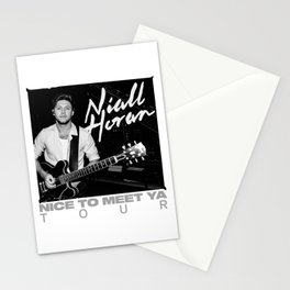NIALL HORAN - NICE TO MEET YA TOUR Stationery Cards