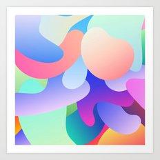 Coloramo Art Print
