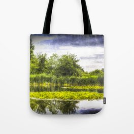 The Lily Pond Art Tote Bag