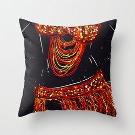Belly Dancing Throw Pillow