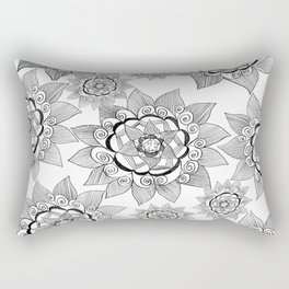 My sunflower garden Rectangular Pillow