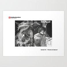 #15 - El hecho de Calamaro Art Print
