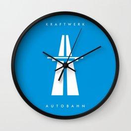 Kraftwerk Autobahn Wall Clock