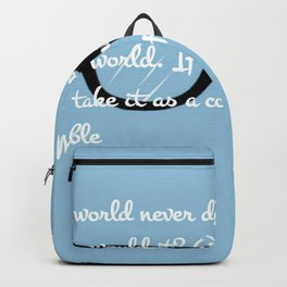 Quote 3 Backpack