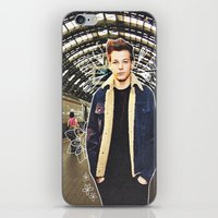 louis iPhone & iPod Skins featuring Louis by Claudia
