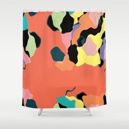 Descending Color Shower Curtain