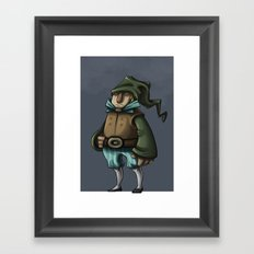 Dwarf Prince or Merchant Framed Art Print