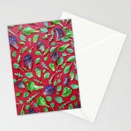 Vegetables pattern (18) Stationery Cards