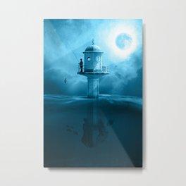 le phare Metal Print