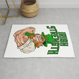 Irish Strength - Fitness Leprechaun Training Rug