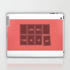 Love will tear us apart Laptop & iPad Skin