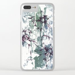 Bellis Perennis Clear iPhone Case