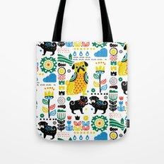 Scandinavian Pugs Tote Bag