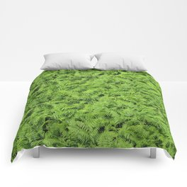 What a green! Comforters