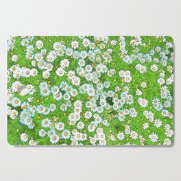 Daisies Painting Cutting Board