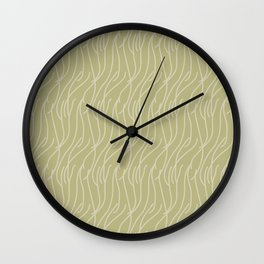 Doris Lessing Savannah Wall Clock