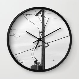 Somerset Power Line Wall Clock