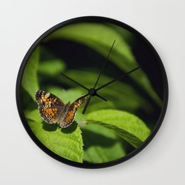 Tawny by Althéa Photo Wall Clock