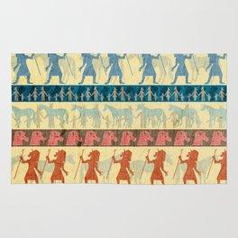 Egyptian Unicorn Pattern Rug