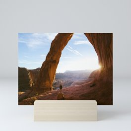 Corona Arch Sunset, Utah Mini Art Print