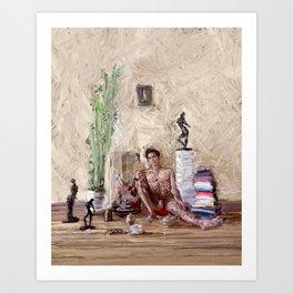 Tea Time Art Print