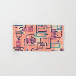 Mid Century Modern Abstract Pattern 951 Hand & Bath Towel