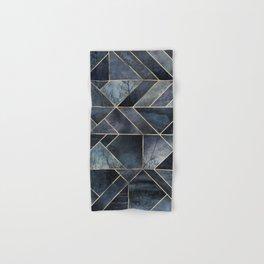 Abstract Nature - Dark Blue Hand & Bath Towel