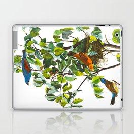 Blue Grosbeak Bird Laptop & iPad Skin